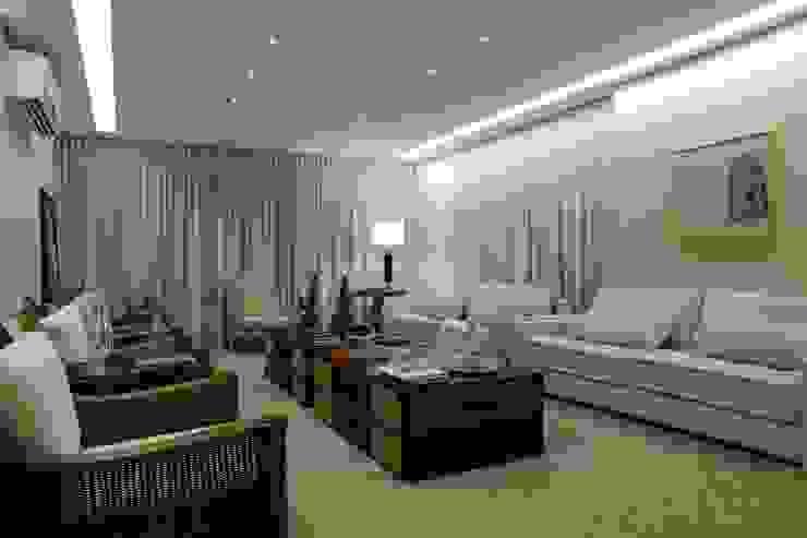 Modern Living Room by Ana Paula e Sanderson Arquitetura Modern