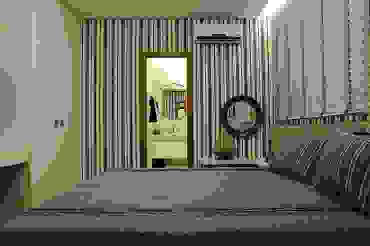 Apartamento Flamboyant Quartos modernos por Ana Paula e Sanderson Arquitetura Moderno