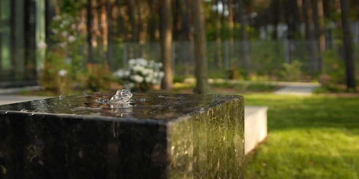 element wodny od Autorska Pracownia Architektury Krajobrazu Jardin Eklektyczny