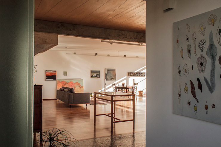 Ruta arquitetura e urbanismo Modern living room
