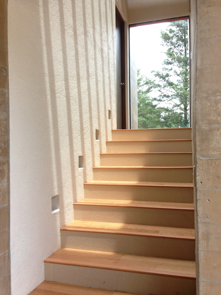 Modern Corridor, Hallway and Staircase by Revah Arqs Modern
