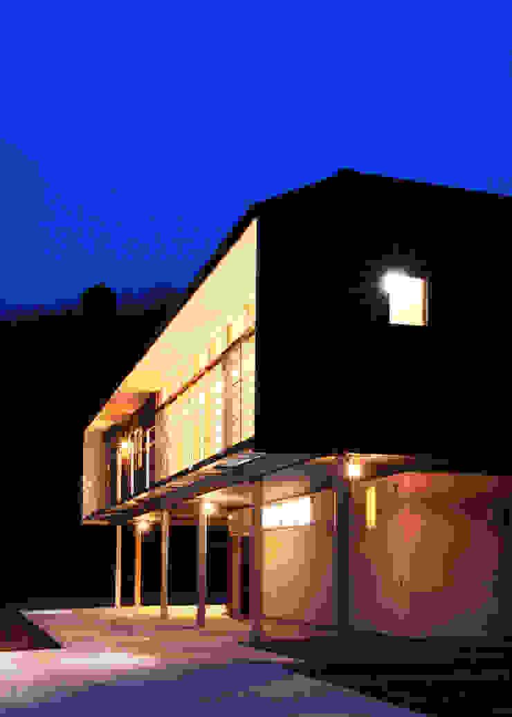 House in Mure モダンな 家 の 高倉設計事務所 モダン