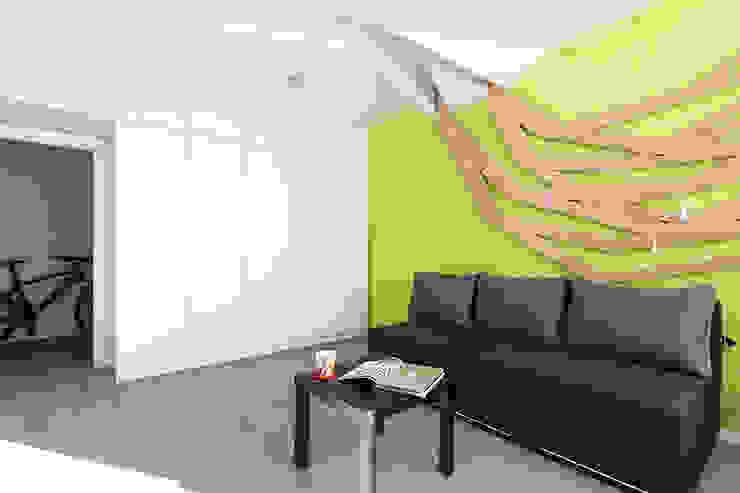 ПРАВИЛА РАЗВИТИЯ 2.0: Л-СИСТЕМЫ Гостиная в стиле минимализм от DMYTRO ARANCHII ARCHITECTS Минимализм