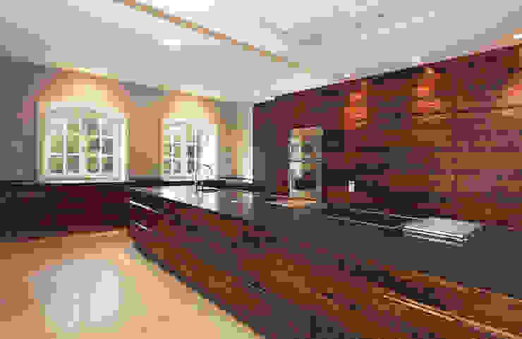 Cocinas de estilo moderno de Andreas Edye Architekten Moderno