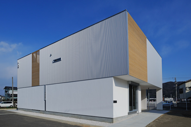 Modern houses by 開建築設計事務所 Modern