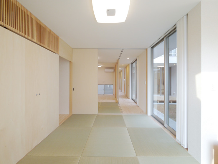 Modern style bedroom by 開建築設計事務所 Modern