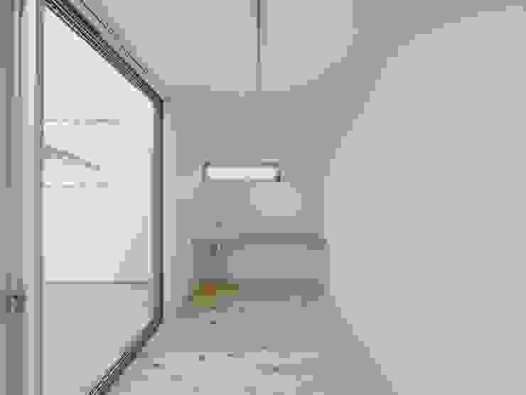Ruang Studi/Kantor Modern Oleh 開建築設計事務所 Modern