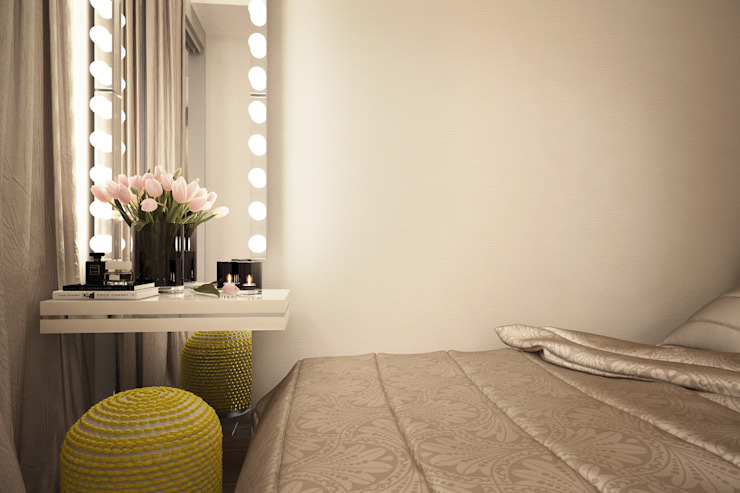 Industrial style bedroom by Александра Петропавловская Industrial