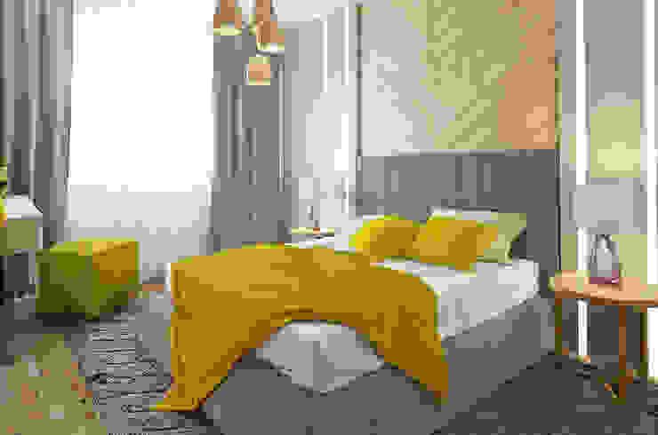 Николо-Прозорово, 365 м² Спальня в эклектичном стиле от Bronx Эклектичный