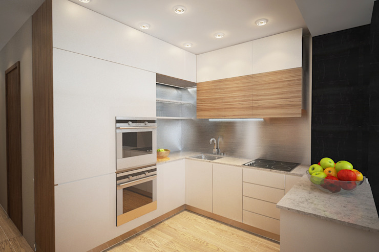 Industrial style kitchen by Александра Петропавловская Industrial