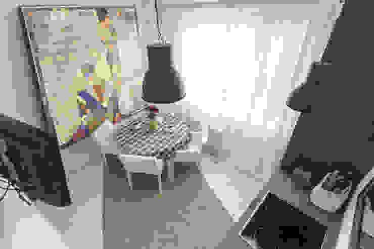 Кухня в скандинавском стиле. от студия Дизайн Квадрат Скандинавский