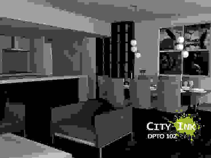 Comedor de City Ink Design Moderno