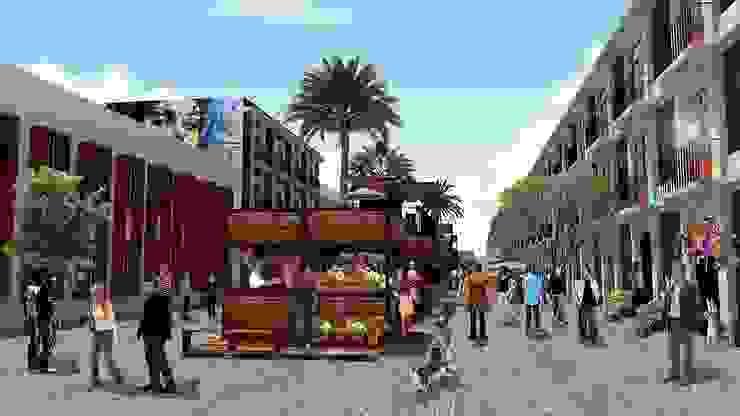 Calle de Argentina y Justo Sierra de City Ink Design Moderno