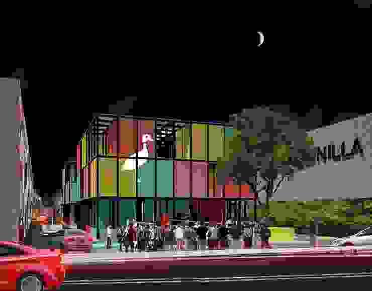 Vida nocturna de City Ink Design Moderno