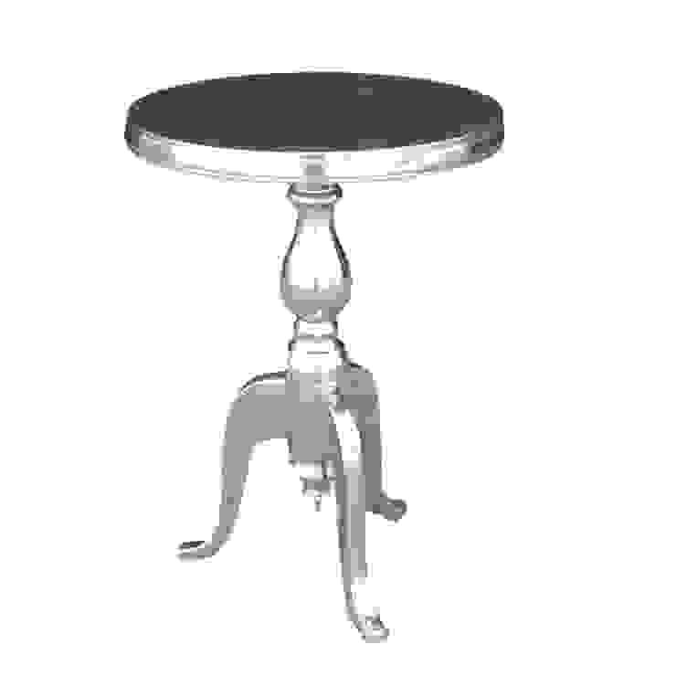 Aluminium Round Side Table de Bonsoni.com Clásico