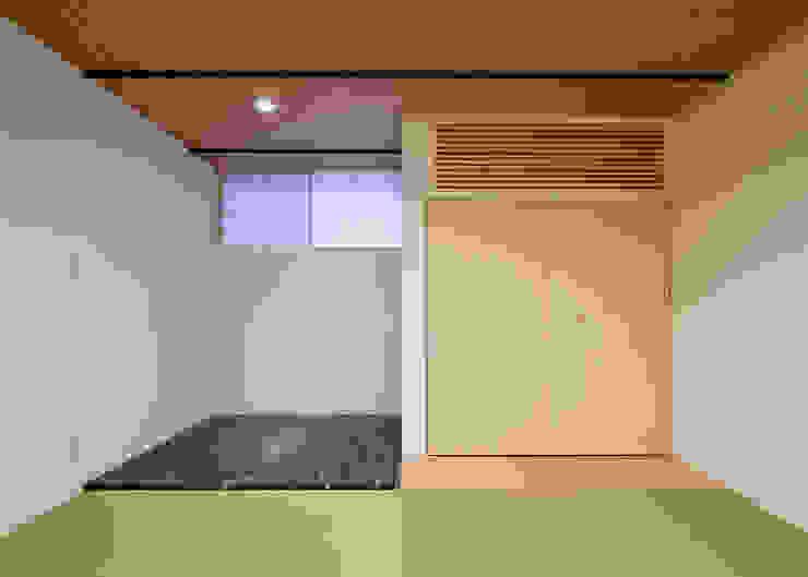 町田の家 和風の 寝室 の 萩原健治建築研究所 和風