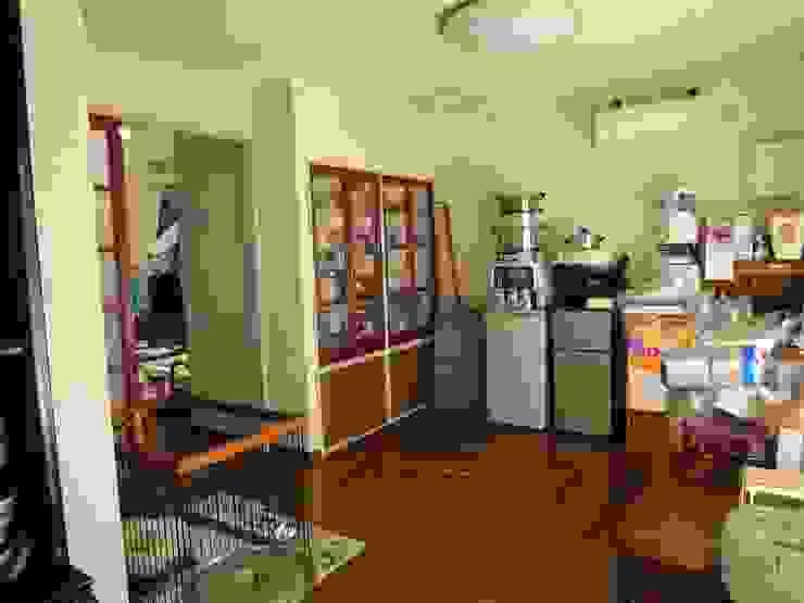 改修前 1階 食堂 の 松本勇介建築設計事務所 / Office of Yuusuke MATSUMOTO