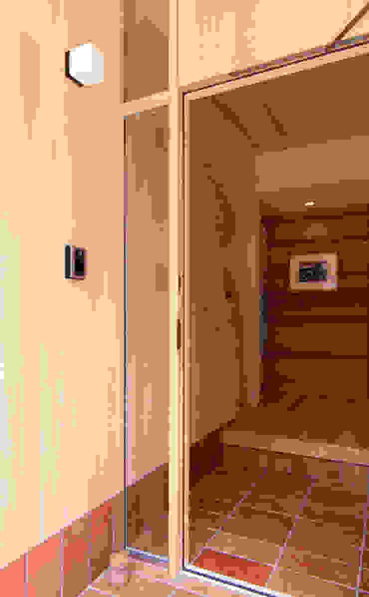 アプローチ / 玄関 モダンスタイルの 玄関&廊下&階段 の nameless Architects モダン