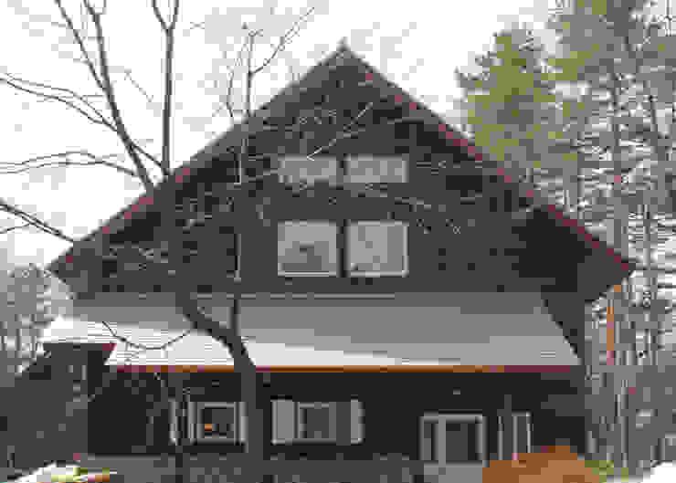 外観 オリジナルな 家 の 勝家建築研究室 オリジナル