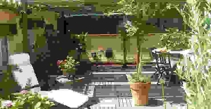 Balcones y terrazas mediterráneos de Vicente Galve Studio Mediterráneo