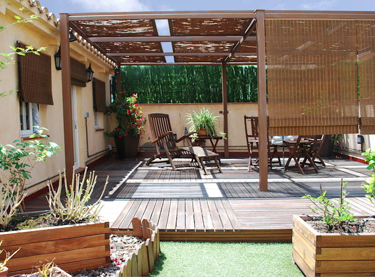 Akdeniz Balkon, Veranda & Teras Vicente Galve Studio Akdeniz