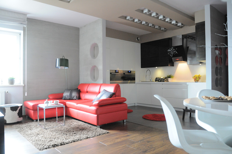 Salas de estar modernas por Perfect Home Moderno
