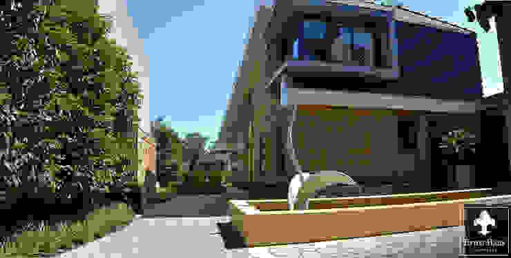 Moderne spiegelvijver Ernst Baas Hoveniers B.V. / Ernst Baas Tuininrichting B.V. Moderne tuinen