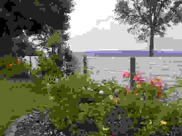 Deluxe Betonzaun:  Garten von Morganland