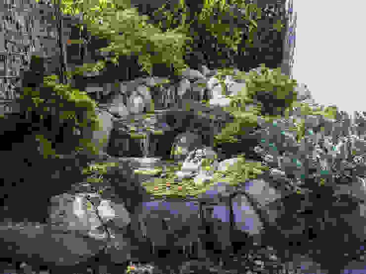Asianstyle design garden Jardines de estilo asiático de -GardScape- private gardens by Christoph Harreiß Asiático