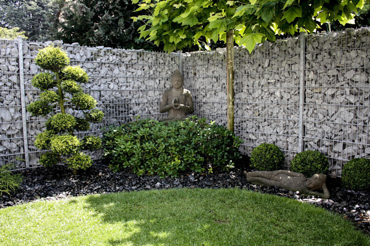 Asianstyle design garden by -GardScape- private gardens by Christoph Harreiß Asian
