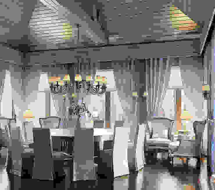 Резиденция в стиле шале. от Архитектурная мастерская AI Средиземноморский