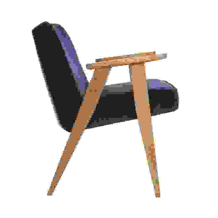 366 Chair Velvet Navy Blue od 366 Concept Design & Lifestyle Skandynawski