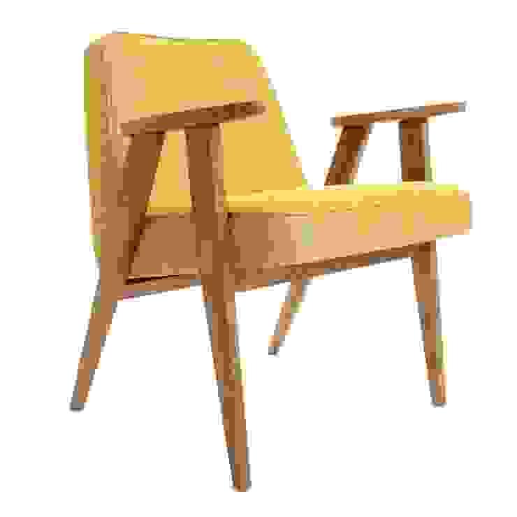 366 Chair Soft Loft Moutarde od 366 Concept Design & Lifestyle Skandynawski
