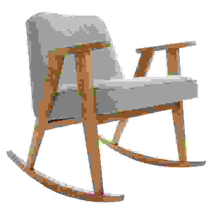 366 Rocking Chair Soft Loft Olive od 366 Concept Design & Lifestyle Skandynawski