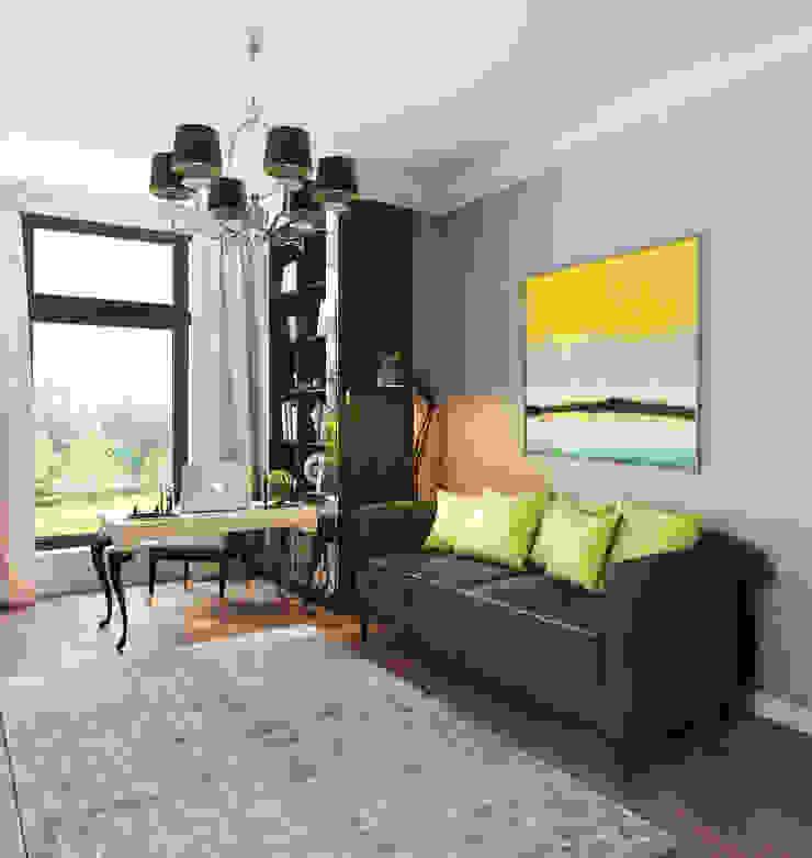 Дом Millennium-park, 420 м² Рабочий кабинет в эклектичном стиле от Bronx Эклектичный