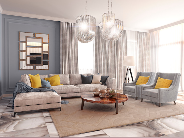 Living room by Bronx, Eclectic