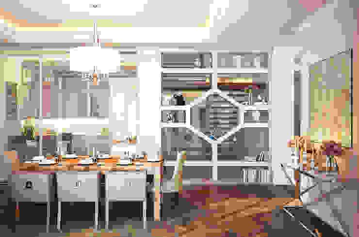 Дом Millennium-park, 420 м² Столовая комната в эклектичном стиле от Bronx Эклектичный