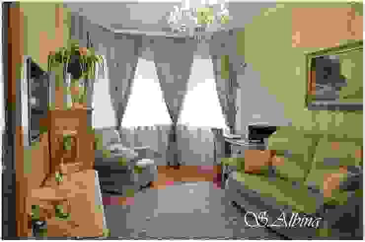 Дизайн проект квартиры по улице Гастелло (2010-2011г) Рабочий кабинет в классическом стиле от студия авторского дизайна Альбины Сибагатулиной Классический