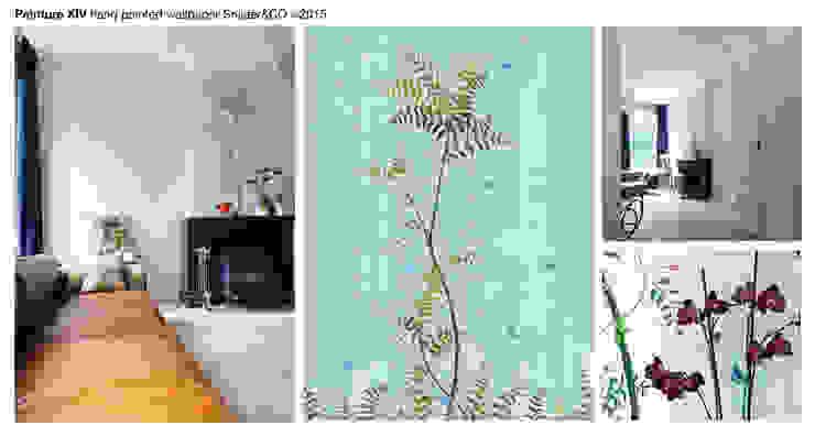 Mantel Wallpaper Peinture XIV van Snijder&CO Klassiek