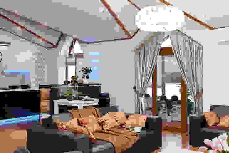 Как оформить интерьер кухни на мансарде1 Балкон и терраса в стиле модерн от Студия дизайна Interior Design IDEAS Модерн