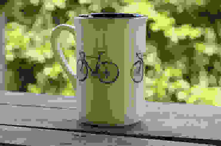 kubek rowerowy od Cynamon Studio Nowoczesny