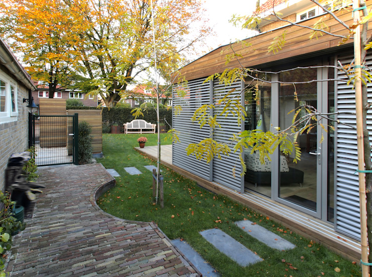 House extension & renovation Modern conservatory by Roorda Architectural Studio Modern