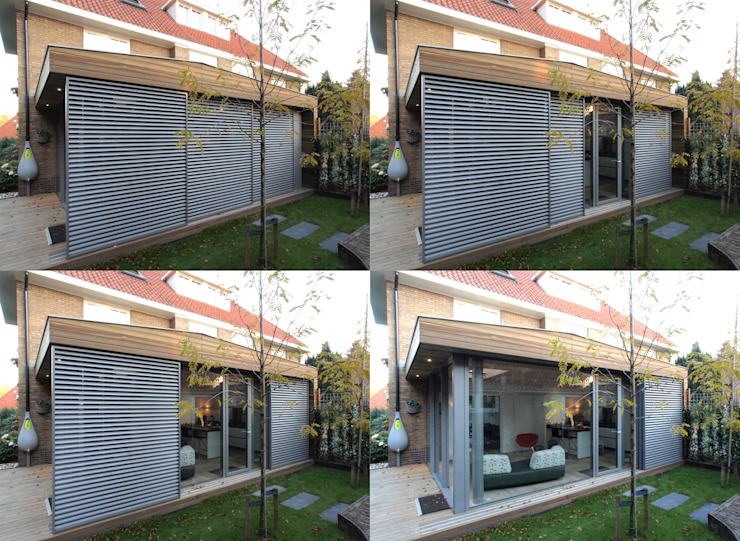 House extension & renovation Зимний сад в стиле модерн от Roorda Architectural Studio Модерн