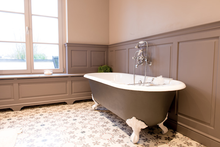 Bathroom by Kenny&Mason, Colonial