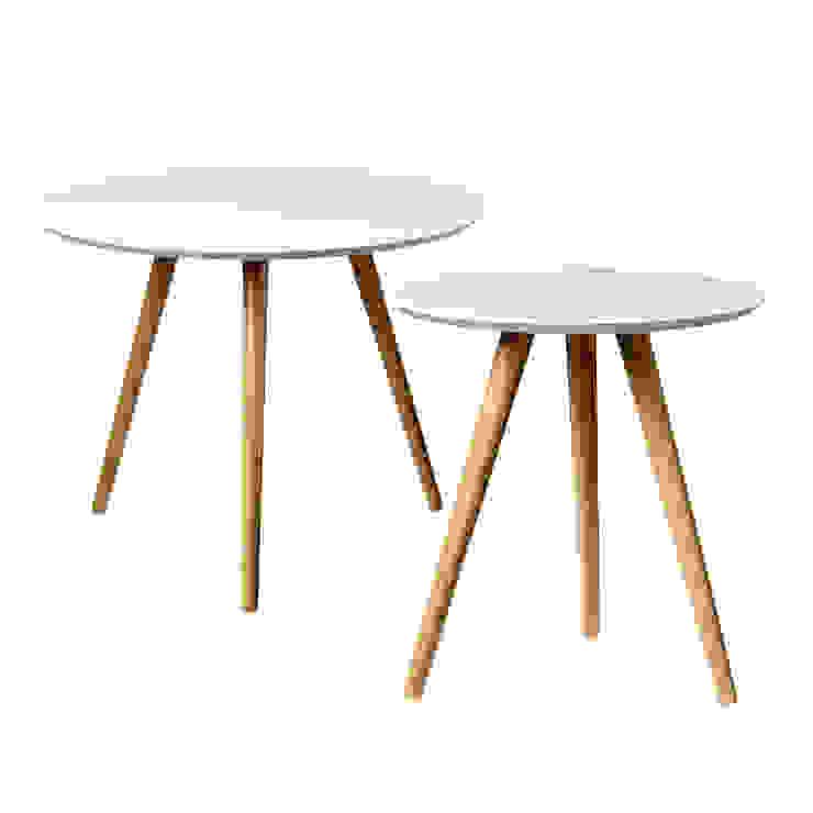 Набор из двух журнальный столиков Гостиная в скандинавском стиле от BoDeCo Скандинавский