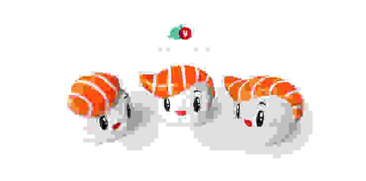 Hashioki - ceramiczne figurki kolekcjonerskie. od Diploo Studio Nowoczesny