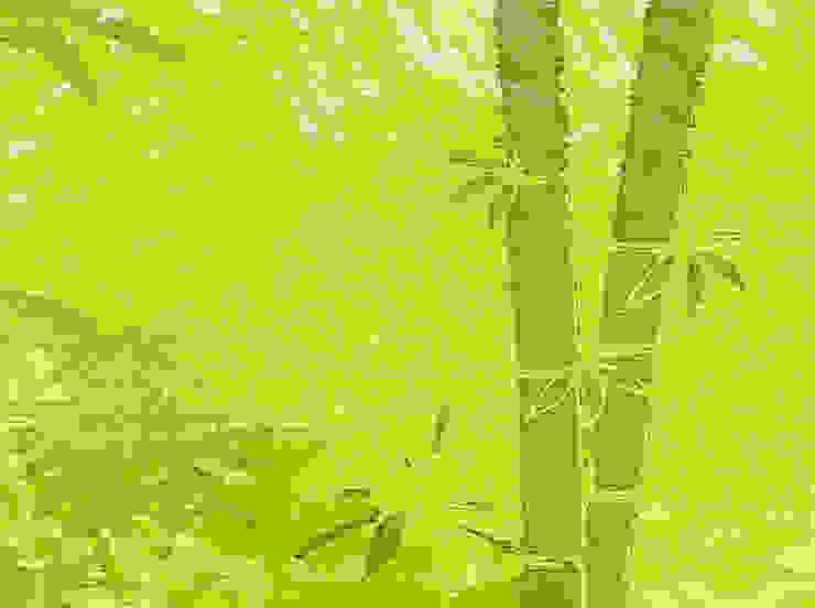 Bordüre - Bambuswald Mein Bordürenladen Asiatische Wohnzimmer