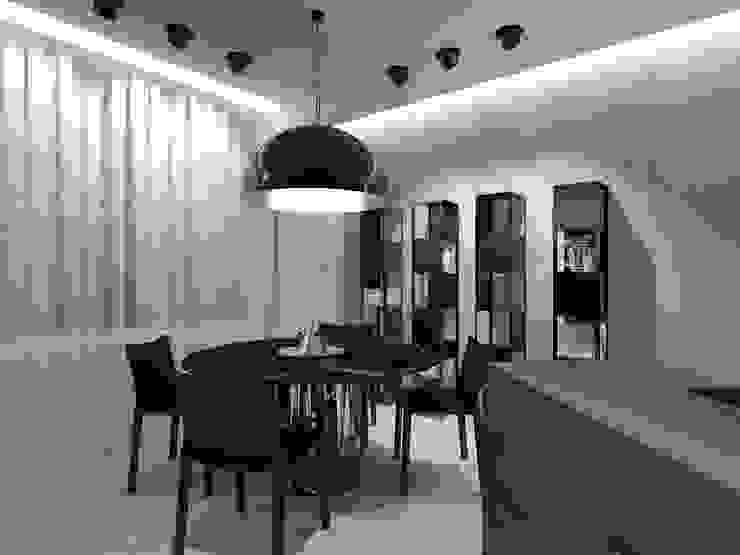 Столовая комната в стиле минимализм от homify Минимализм
