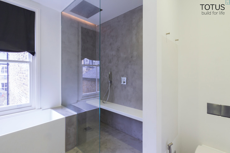 Property Renovation and Extension, Clapham SW11 Modern bathroom by TOTUS Modern