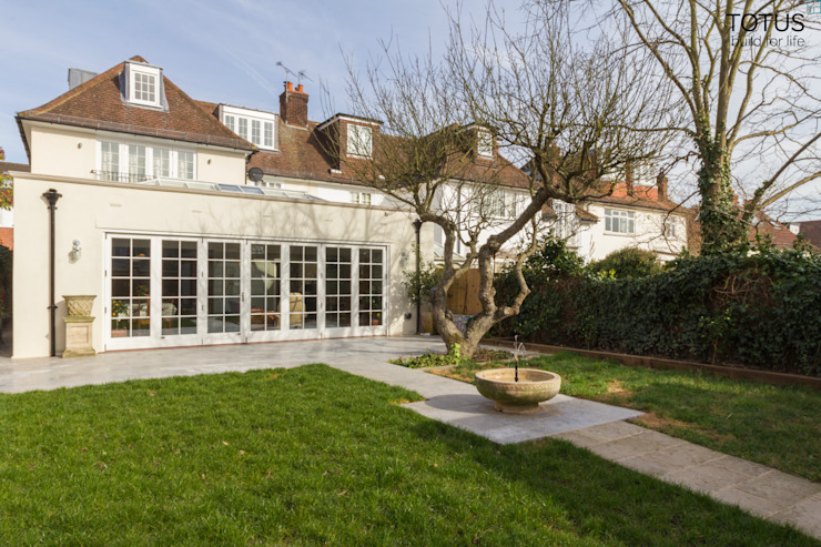 House extension and transformation, Wandsworth SW18 Country style houses by TOTUS Country